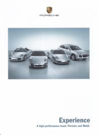 Mobil 1 oil - brochure, 6 pages, 11/2005, German language