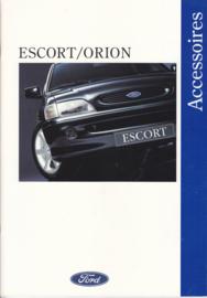 Escort/Orion accessories brochure, 46 pages, 5/1993, Dutch language