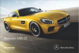 AMG GT Coupe brochure. 16 pages, 10/2014, Dutch language