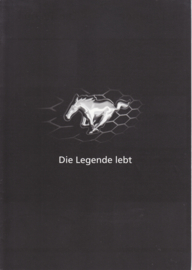 Mustang V6 & GT export brochure, 6 pages, about 2017, German language