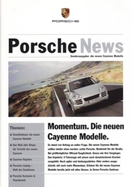 News special with Cayenne, 16 pages, 11/06, German language