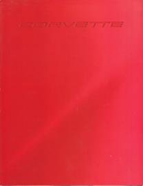 Corvette  brochure, 6 pages, 1998, USA