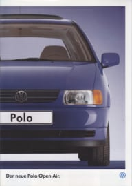 Polo Open Air brochure, 16 pages,  A4-size, German language, 09/1995