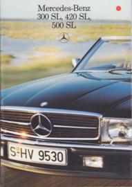 SL-class model brochure, 34 pages, 12/1985, Dutch language