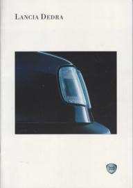 Dedra Sedan brochure, A4-size, 38 pages, about 1994, Dutch language