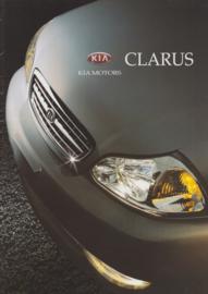 Clarus Sedan & Wagon brochure, 24 pages, 1998, Dutch language