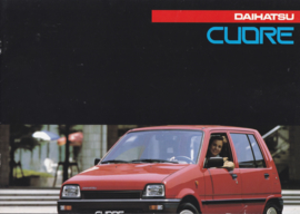 Cuore brochure, 12 pages., about 1988, A4-size, Dutch language