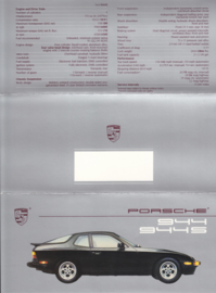 944 / 944 S brochure, 6 pages, 1988, English (USA)