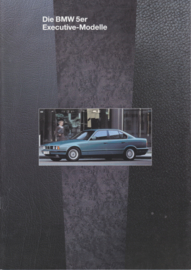 5-Series Executive brochure, 10 pages, A4-size, 1/1994, German language