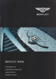 Program Continental GT & Flying Spur/Arnage S II, 8 pages, 03/2005, German/English languages