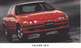 Falcon XR 6, standard size postcard, Australia