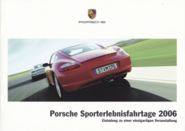 Sporterlebnisfahrtage brochure, 12 pages, 02/2006, German language
