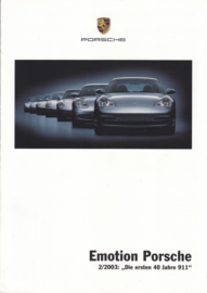 911 - the first 40 years, 6 pages, 09/2003, German
