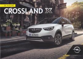 Crossland X brochure, 8 pages, 03/2017, Dutch language