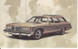 Grand Safari 4-Door, 2-Seat Wagon, 1976, standard-size, USA