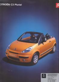C3 Pluriel brochure, 32 pages, 06/2004, Dutch language