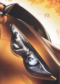 FX SUV brochure, 48 pages, Dutch language, 12/2008