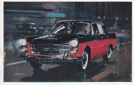 A99 Westminster 2.9 Saloon, British factory postcard, # 1780