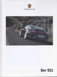 911 Carrera brochure, 182 pages, 11/2009, hard covers, German