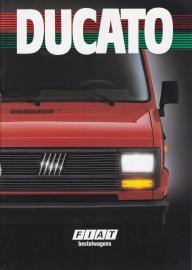 Ducato brochure, 34 pages (A4), 02/1988, Dutch language
