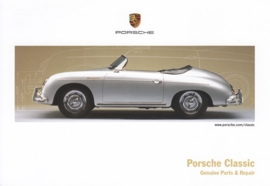 Classic with 356 Speedster, A6-size postcard, German, WDMG 7701 1231 20, English