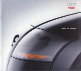 TT Coupé brochure, 48 pages + specs. + prices, 1998, German language