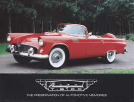 Ford Thunderbird 1955 replica by Regal Roadsters brochure, 4 pages, about 2006, English language
