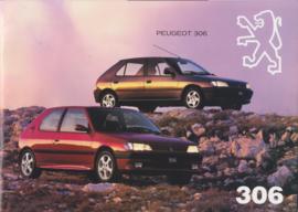 306 brochure, 24 pages + colours, A4-size, 1994, Dutch language