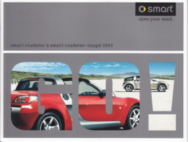 Roadster & Roadster-Coupe brochure,  20 pages, 01/2003, Dutch language
