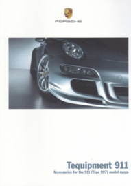 911 Tequipment (997) brochure, 36 pages, 05/2005, English language