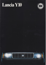 Y10 fire/Turbo brochure, A4-size, 16 pages, about 1987, German language