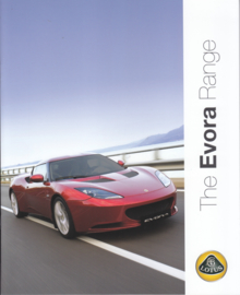 Evora, 12 pages, factory-issued, English language, dated 2010