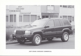 Grand Cherokee Commercial, 2 pages, 02/1996, Dutch language