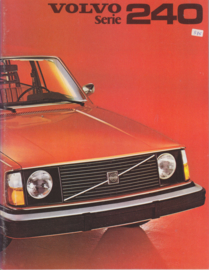 240 Series brochure, 24 pages, Dutch language, 1975