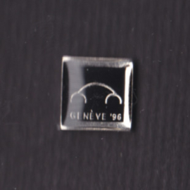 Volkswagen New Beetle small pin with text Geneva 1996