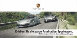 Pre-used cars brochure , 4 pages, about 2016, German language