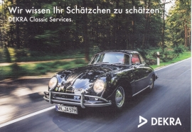 356 Coupe, A6-size postcard, issue Dekra, German, 2015