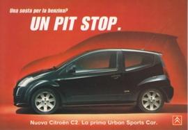 C2, PromoCard Italy, A6-size, # 3986, 2003, Italian
