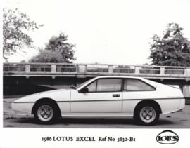 Lotus Excel - factory photo - 1986 - Ref No 5632-B1 - UK market