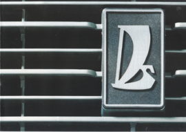 2105 Sedan brochure, 8 pages, 01/1980, Dutch language (Belgium)