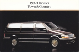 Town & Country, US postcard, continental size, 1992