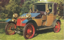 Lanchester 20 HP 1908, regular size postcard, VC2, English (GB)