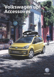up! accessories brochure, A4-size, 4 pages, 2018, Dutch language