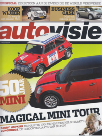 Mini Special Autovisie magazine reprint, 24 pages, Dutch language, 7/2009 %