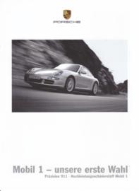 Mobil 1 oil - brochure, 6 pages, 06/2004, German language
