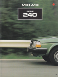 240 Sedan & Estate brochure, 26 pages, Dutch language, ASP/PV 8534-81
