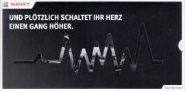 Leon Cupra 280 intro brochure, 2 pages in sleeve, 03/2014, German language