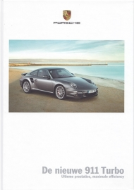 911 Turbo brochure, 114 pages, 05/2009, hard covers, Dutch