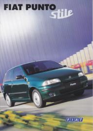 Punto Stile brochure, 6 pages (A4), 04/1998, Dutch language