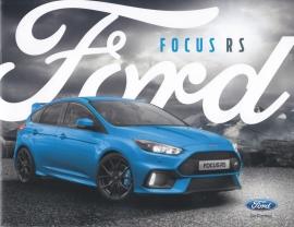 Focus RS brochure, 18 pages, 12/2015, Dutch language